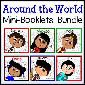 Around the World Country Booklets Endless Growing Bundle - Discounted Price!