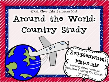 Around the World: Country Study Supplemental Materials