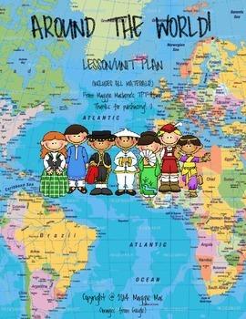 Around the World Cultural Art Lesson!