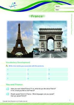 Around the World - France - Grade 5