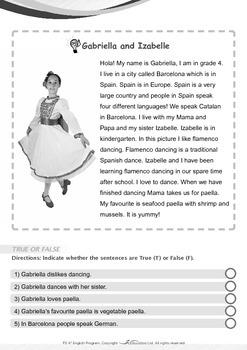 Around the World - Gabriella and Izabelle Live in Spain - Grade 3
