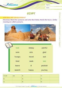 Around the World - I Live in Egypt - Grade 3