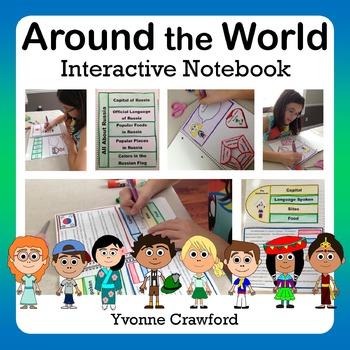 Around the World Interactive Notebook