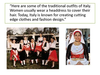Around the World: Italy