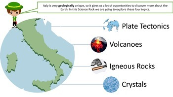 Around the World: Italy SCIENCE PACK