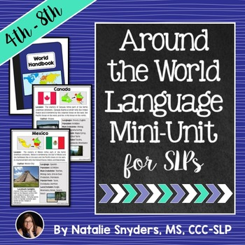 Around the World Language Unit for Upper Elementary & Middle School
