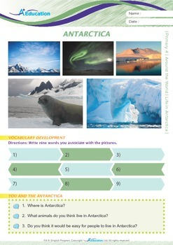 Around the World - Life in Antarctica - Grade 4
