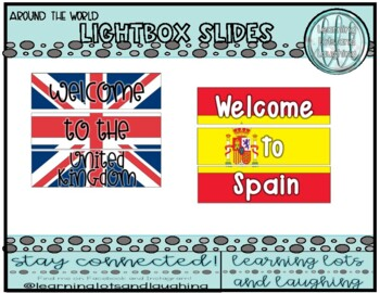 Around the World Lightbox Slides