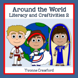 Around the World Literacy and Craftivities 2 Distance Learning