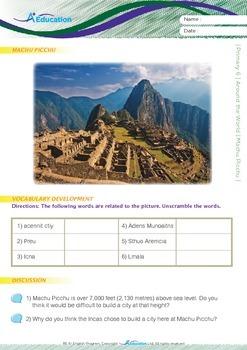 Around the World - Machu Picchu - Grade 6