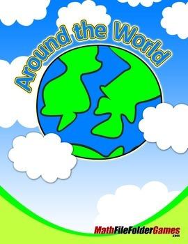 Around the World Math Game