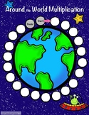 Multiplication Facts : Around the World Multiplication Game