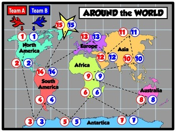 Around the World Music Assessment Game