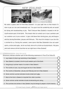 Around the World - New Zealand - Grade 4