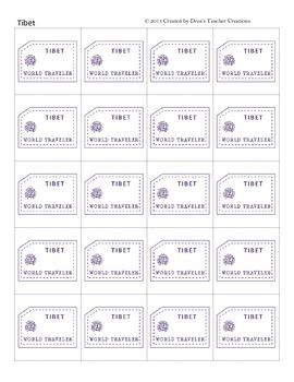 """Around the World"" Passport Stamps SET 2 (Add-On)"