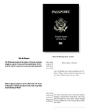 Around the World Passport One Variable Word Problems