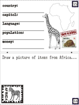 Around the World Passports for Creative, Fun, Inspirational learning