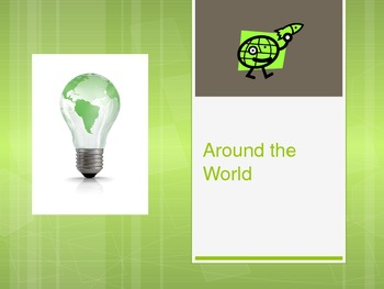 Around the World Powerpoint with active links