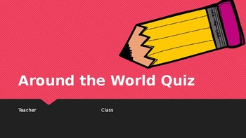 Around the World Quiz (mini)