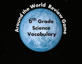 Around the World Review Game PPT Template