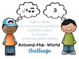 Around-the-World Rhythm Fluency Challenge