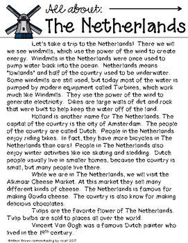 Around the World: The Netherlands