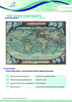 Around the World - The Seven Continents - Grade 7