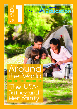 Around the World - The USA: Britney and Her Family - Grade 1