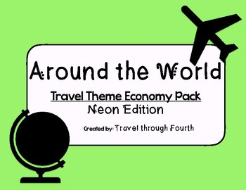 Travel Theme Classroom Economy Pack!