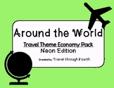 Travel Theme Classroom Economy Pack!