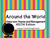 Around the World: Travel Theme Classroom Bundle (Now Editable!)