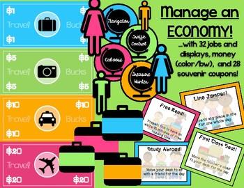 Around the World: Travel Theme Classroom Bundle (Now Editable!)