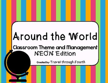 Around the World: Travel Theme Classroom PART 1