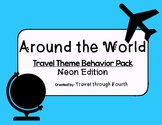 Travel Theme Classroom Behavior Management Pack!