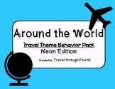 Travel Theme Classroom Behavior Management Pack!