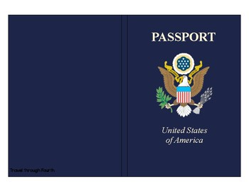 Travel Theme Classroom Passport Set!
