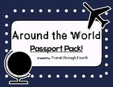 Travel Theme Classroom Passport Set!