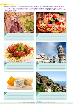 Around the World - Welcome to Italy - Grade 4