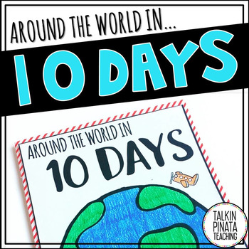 Around the World in 10 Days {Target Books}
