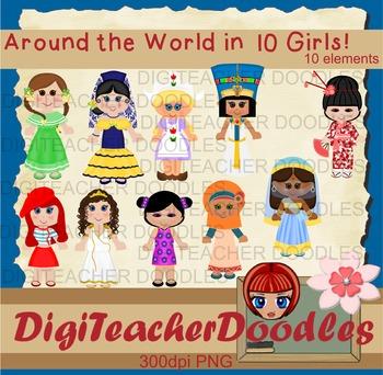 Around the World in 10 Girls!
