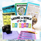Around the World in 30 Books ELA, Writing, and Social Stud
