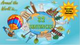 Around the World in 32 Sentences - Descriptive Writing Challenge!
