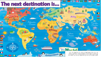 Around the World in 32 Sentences - Descriptive Writing Challenge!