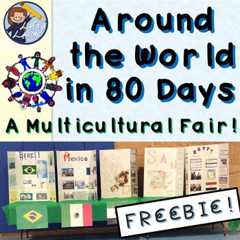 Around the World in 80 Days - A Multicultural Fair