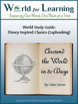 Around the World in 80 Days - Literature Guide Lapbook