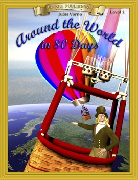 Around the World in 80 Days RL 2-3 ePub with Audio Narration