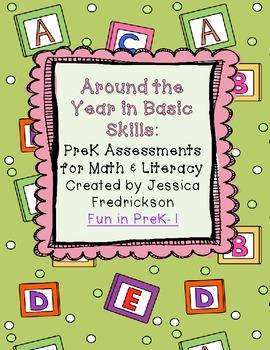 Around the Year in Basic Skills: Math & Literacy Assessmen