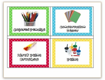 Around the room class labels