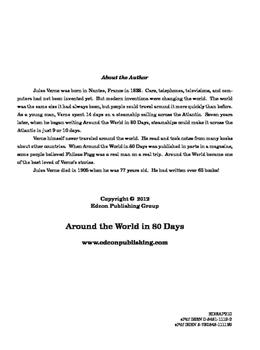 Around the World in 80 Days 10 Chapter Reader