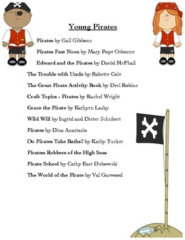 """Arr Favorite Books About Pirates"" - A List for Elementary Teachers & Students"